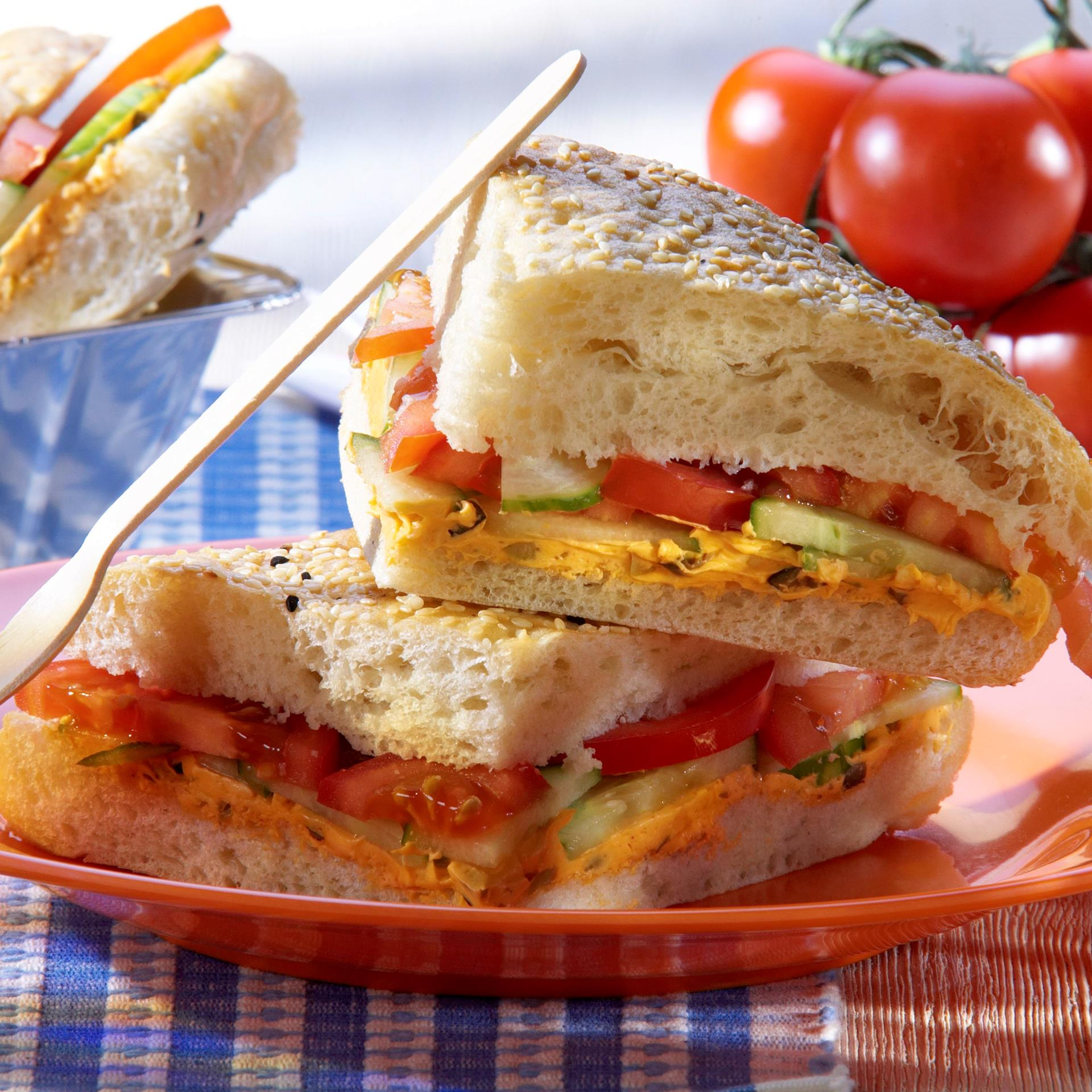 recipe image Salat Sandwich